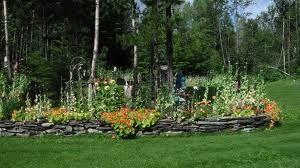 Slate Rock Garden Border
