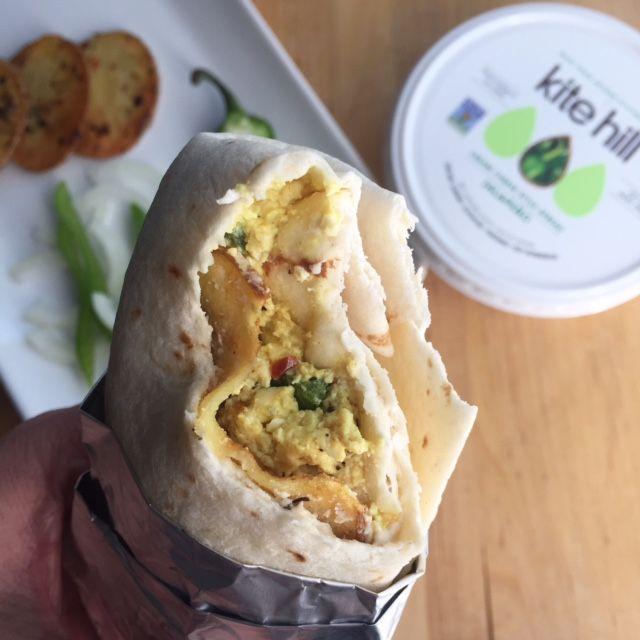 Jalapeno Cream Cheese Breakfast Burritos