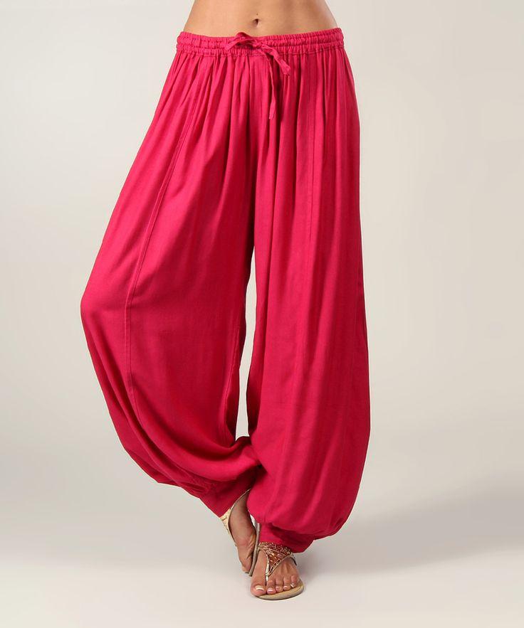 Pink Harem Pants | zulily                                                                                                                                                     Más