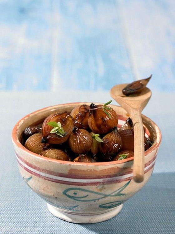 Balsamico-Zwiebeln (Vegan Dip)