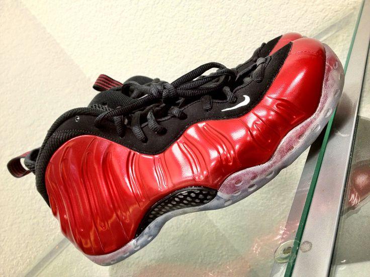 Nike Foamposite 1 Metallic Red