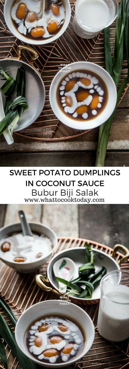 How to make Bubur Biji Salak (Sweet Potato Dumplin…