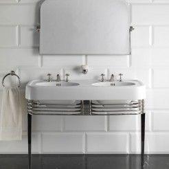 Best Bathroom Images On Pinterest Art Deco Bathroom