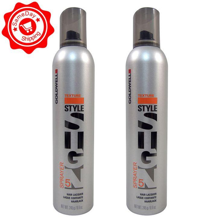2 Pack Goldwell Texture Sprayer Hair Lacquer 8.6 Oz Each