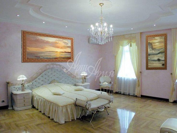 Картины для спальни - оформление интерьера. Репродукции картин, портреты, живопись