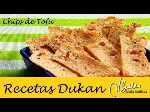 Recetas con Tofu: Chips crujientes (dieta Dukan, Ataque) / Tofu Chips
