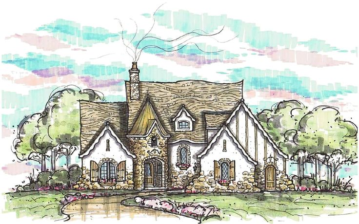 17 Best Ideas About Stone House Plans On Pinterest Dream