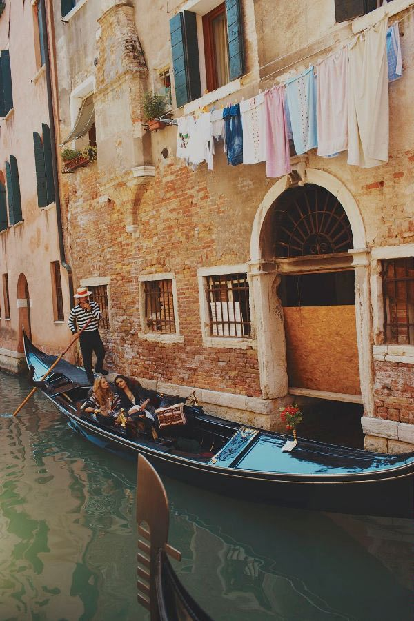 Venice, Italy. Felt like I was on a movie set when I stayed here. It's so unreal!