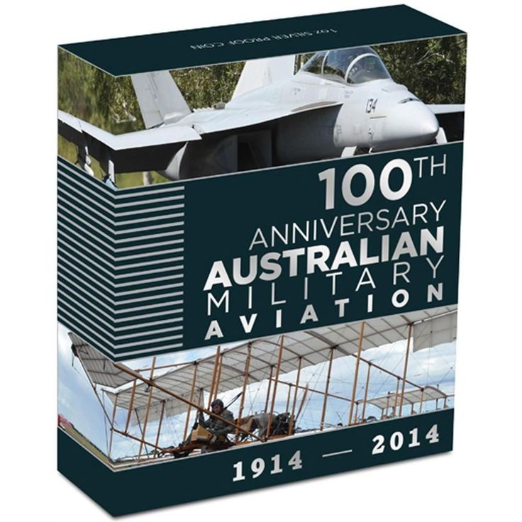 100 Years of Australian Military Aviation 1oz Silver Proof Coin  RAAF