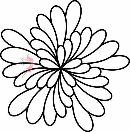 Quilt Feather Block Stencil - Fairy Quilt #quiltstencil #fairyquilt #quilting #quiltingideas #blockstencil