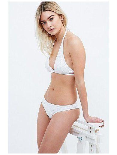 Minkpink Believers of Mermaids Bikini Briefs in White