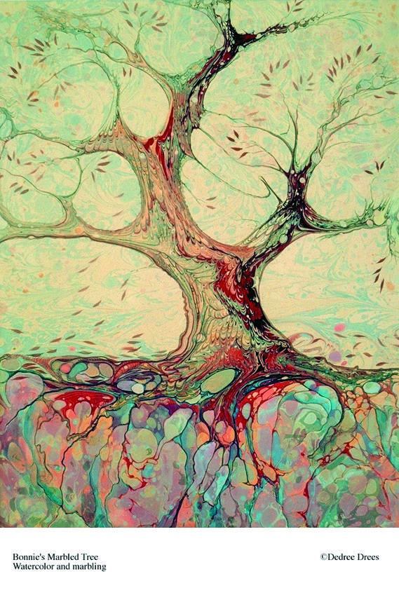 Bonnie's Marbled Tree © d drees
