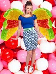 Skirt Gummi Bal  www.Halsoverkop.nl