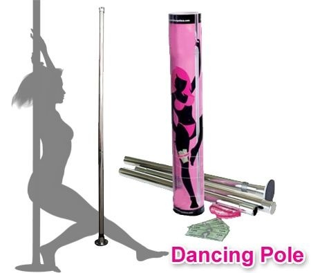 Turn your bedroom into a pole dancing boudoir.