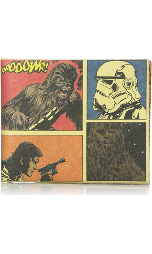 Dynomighty Men's Mighty Wallet Han Solo and Chewbacca Comic Panels, Multi, One Size Best Price