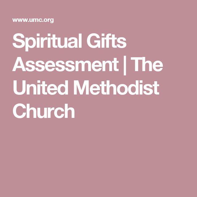 Spiritual Gifts Assessment   The United Methodist Church