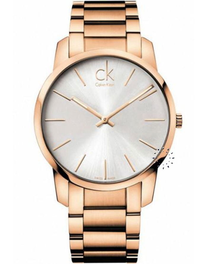 CALVIN KLEIN City Ladies Rose Gold Stainless Steel Bracelet  Τιμή: 287€  http://www.oroloi.gr/product_info.php?products_id=31471