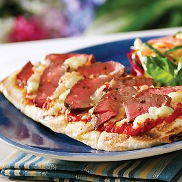Winn-Dixie Stores, Inc. - Grilled Steak Pizza with Blue Cheese