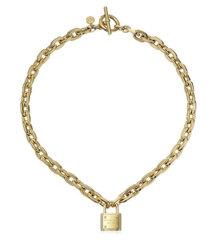 Modeschmuck gold kette  50 besten Michael Kors Uhren & Schmuck Bilder auf Pinterest | Uhr ...