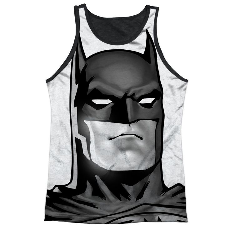 """Checkout our #LicensedGear products FREE SHIPPING + 10% OFF Coupon Code """"Official"""" Batman/bw Bat Head-adult Poly Tank Top T- Shirt - Batman/bw Bat Head-adult Poly Tank Top T- Shirt - Price: $24.99. Buy now at https://officiallylicensedgear.com/batman-bw-bat-head-adult-poly-tank-top-t-shirt-licensed"""