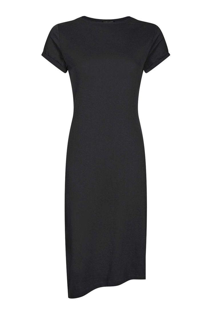 Casual Drape Midi Dress