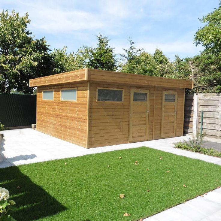 15 best Tuinhuizen - Abris de Jardin images on Pinterest Building - toiture terrasse bois accessible