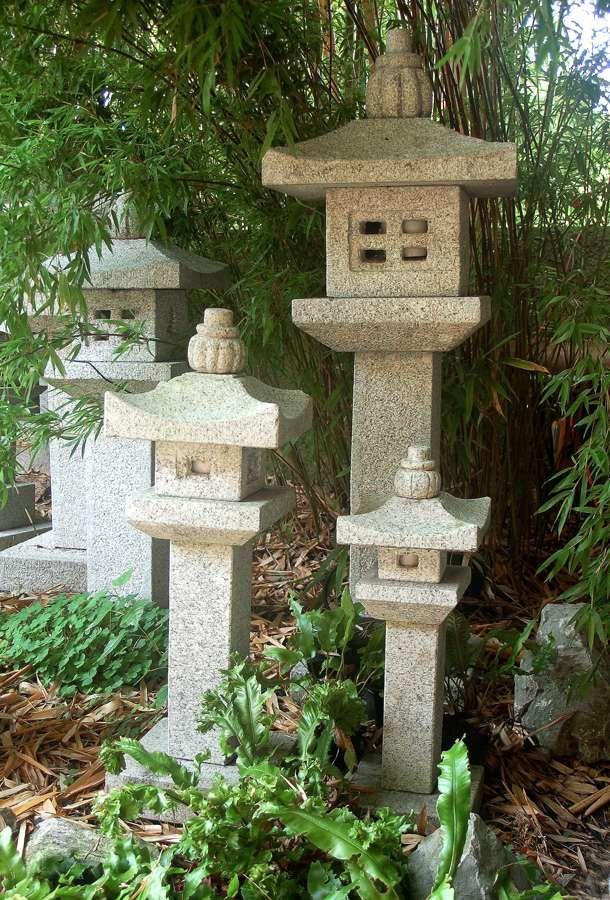 Steinlaterne Katsura Japanische Steinlaternen Steinlaterne Hinterhof Designs
