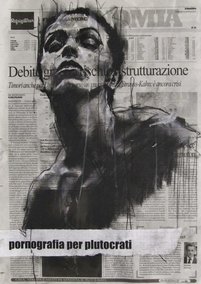 Guy Denning #painting #pornografia. #guydenning…