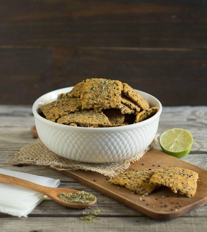crackers de sésamo - Made by Choices