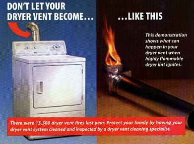 Need a dryer vent professional cleaning? Call us! http://www.mundae.com/dryer-vent-safety-tips