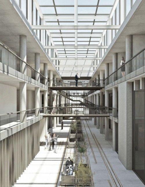 3. Ödül - Efeler Belediyesi Hizmet Binası Mimari Proje Yarışması - kolokyum.com