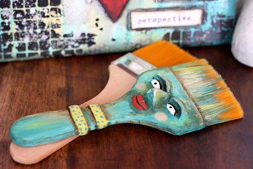 Pentart dekor: Egyszerű ecset újragondolva
