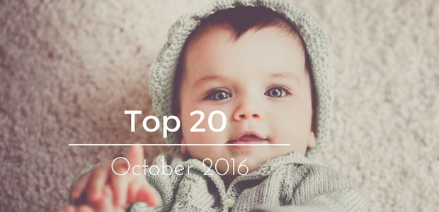 I hope everyone has had a great week and that your weekend is even better! The Top 20 babies in the October Baby Competition are below so check to see if your little munchkin is still in this competition and don't forget that the November 2016 Baby Competition is still open for entries so you a