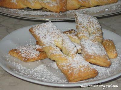 Obżarciuch: Faworki pieczone w piekarniku