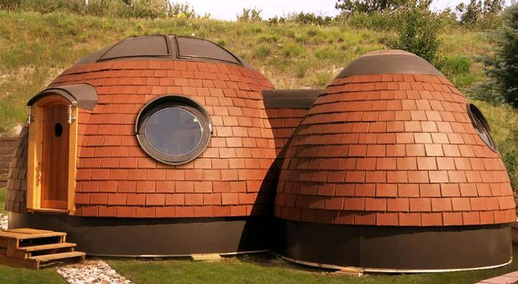 """Having lived in a 4m diameter pod for some time, I must say it offers a very pleasant, living and work space which requires the minimum of fuel (logs) to maintain a comfortable temperature during the depths of winter, it also has a light filled, natural and organic feel to the building."