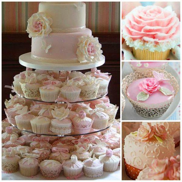 Cupcake Ideas For Wedding: 44 Best Images About Elegant Cupcakes On Pinterest