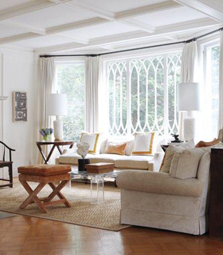 Parquet, lighting, neutral, window treatments