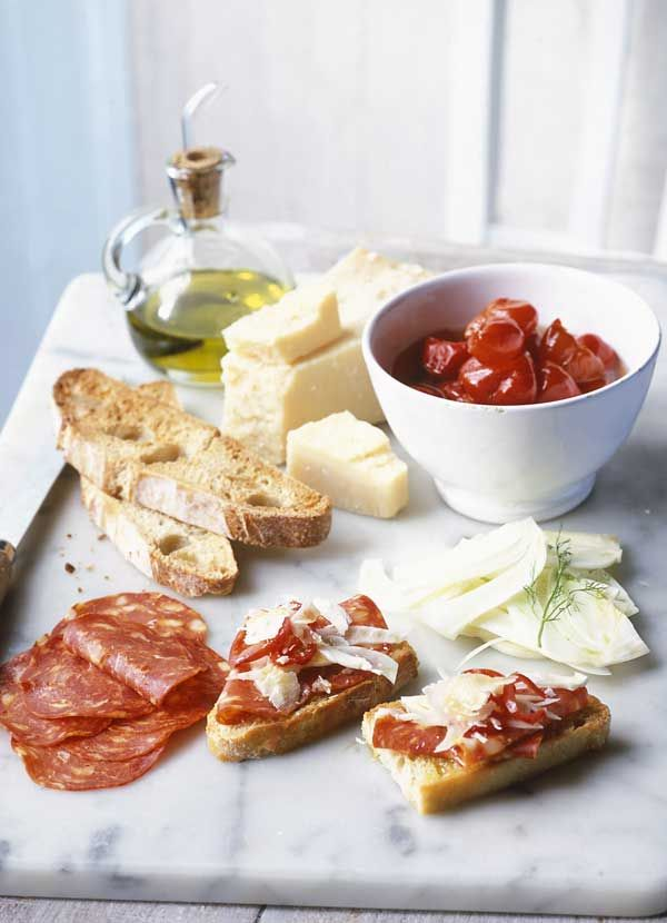 Beautiful Dinner Party Nibbles Ideas Part - 4: Sourdough With Fennel And Salami