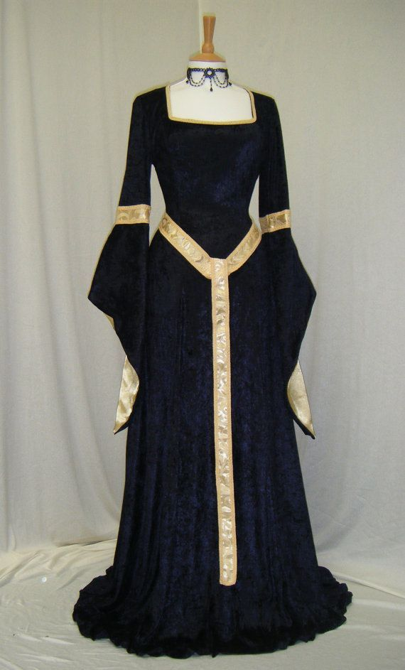 13th century french clothing for women - Google Search                                                                                                                                                     More