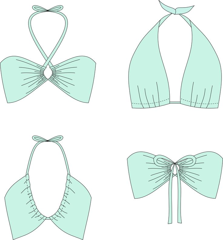 """Patron de couture gratuit : Bikini convertible """"Monroe"""" - Mr est une traînée, Lingerie handmade in Grenoble-city"""