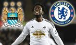 Is Wilfried Bony good enough for Manchester City FC or Chelsea Football Club?