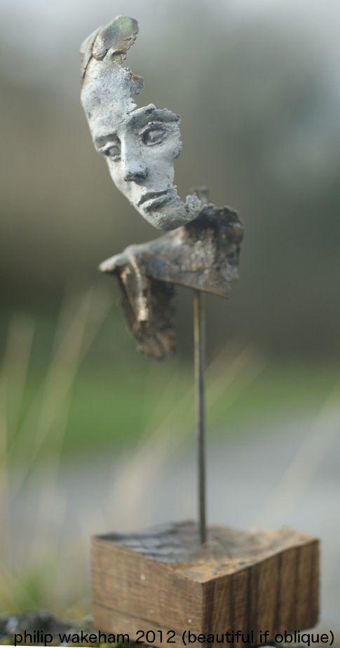 fragmento Dove« PHILIP Wakeham,ESCULTOR. chica N0.5