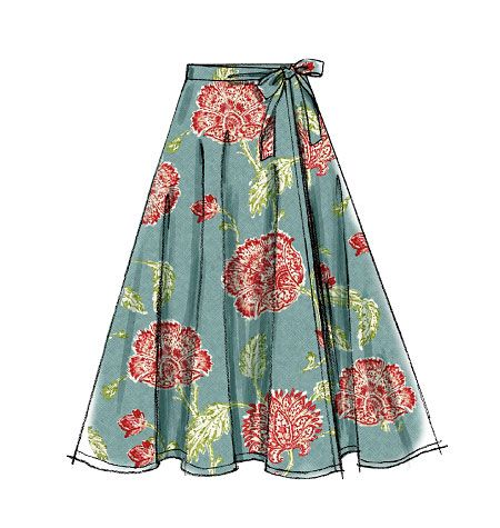 11 best images about Skirts to make on Pinterest | Wrap around skirt ...