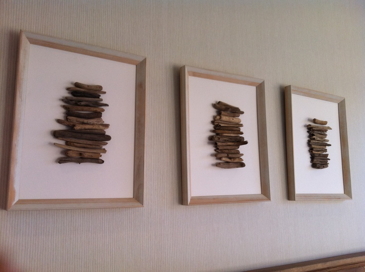 Driftwood wall art driftwood art craft pinterest for Craft ideas for driftwood