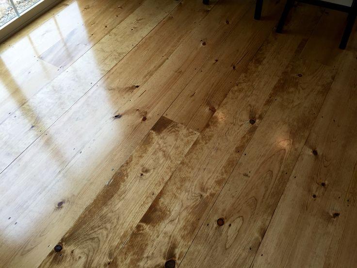 Wide Pine Minwax Golden Oak Semi Gloss Polyurethane