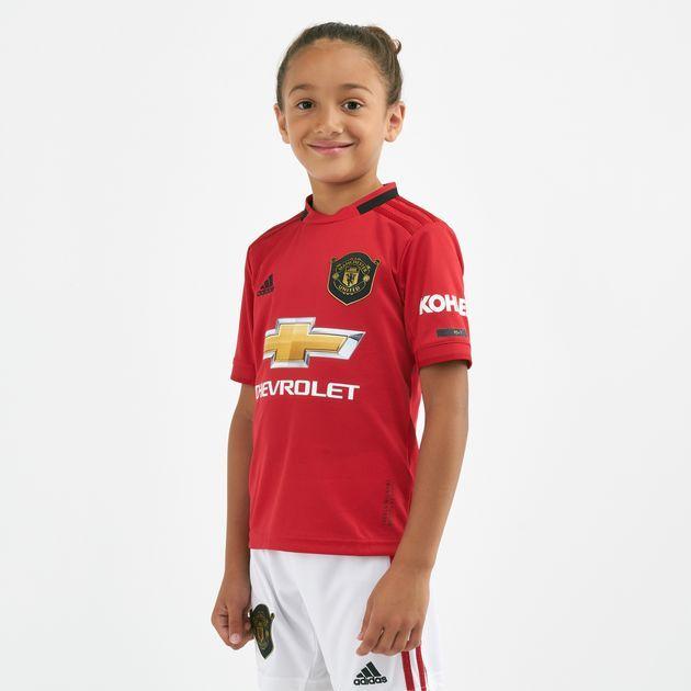 19 20 Manchester United Home Kids Kit