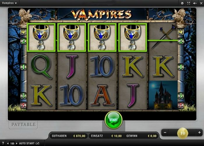 Vampires im Test (Merkur) - Casino Bonus Test