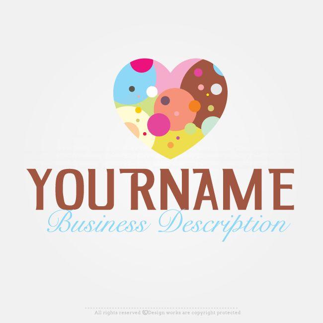 Free Logo Maker – Create Logo Online – Heart Logo Design