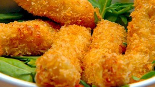 Cheesy Fish Sticks | MasterChef Australia