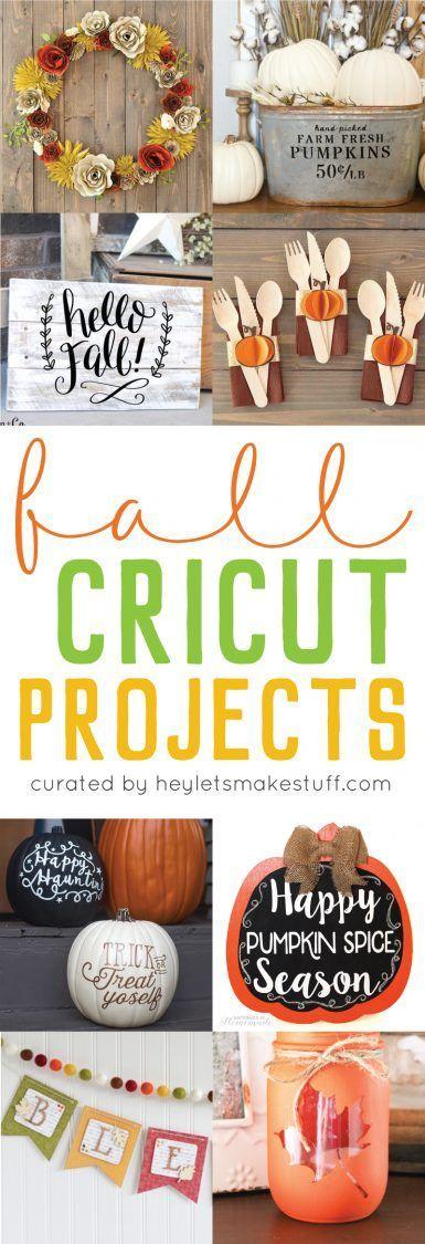 Cricut Fallprojekte, die Sie lieben werden